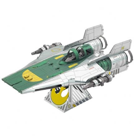 Star Wars Metal Earth Resistance A-Wing Fighter